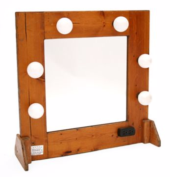 Picture of Make-Up Mirror - Tabletop Wood