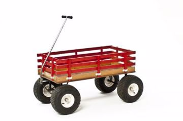 Picture of Cart - Red Wagon 4 X 4