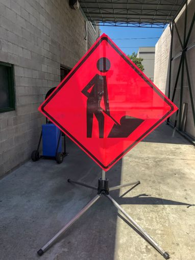 Picture of Road Sign - Men Working