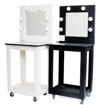 Picture of Make-Up Table - Black Wood
