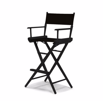 Picture of Chair - Directors Tall Black