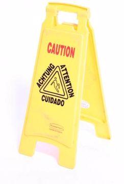 Picture of Wet Floor Sign
