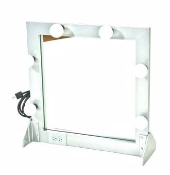 Picture of Make-Up Mirror - Silver Metal