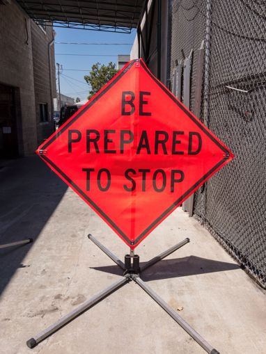 Picture of Road Sign - Prepare To Stop
