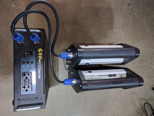 Picture of Battery - Block Battery 600watt Inverter