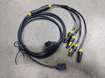 Picture of Quasar Q-Rainbow RGBX Cluster Quad Harness
