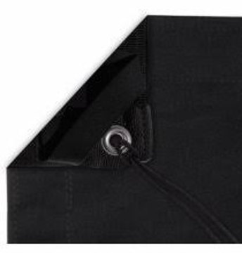 Picture of Silks - 12' X 12' Black - Poly