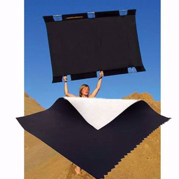 Picture of California SunBounce - 4' X 6' Fabric Only (Black/White)