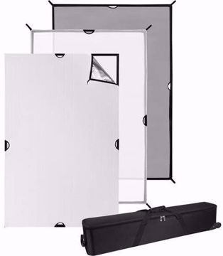 Picture of Scrim Jim 4' x 6' Cine - 3pc Set w/ Frame