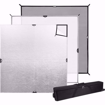 Picture of Scrim Jim 6' X 6' Cine - 3pc. Set W/ Frame