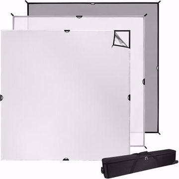 Picture of Scrim Jim 8' X 8' Cine - 3pc. Set W/ Frame