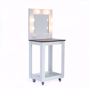 Picture of Make-Up Table - White Wood