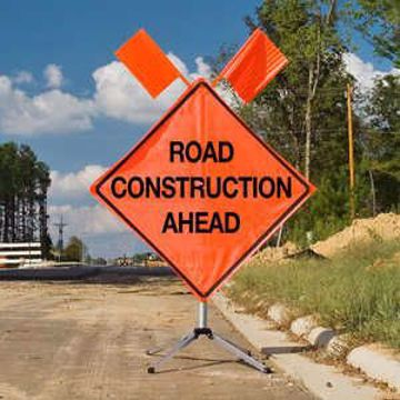 Picture of Road Sign - Construction Ahead