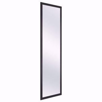 Picture of Wardrobe Mirror - Full Length Black Metal