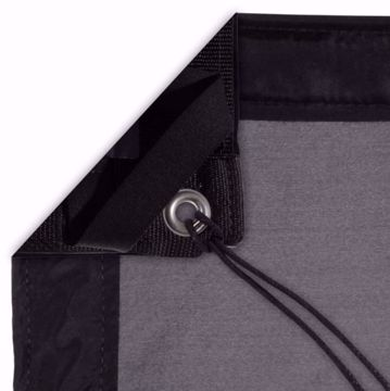 Picture of Silks - 06' x 06' Black - Poly