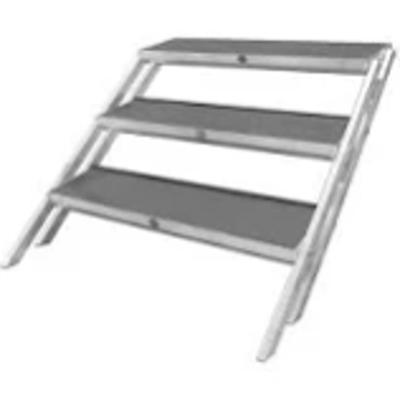 Picture of Stage Riser - Stair Case (3 Step) Sm